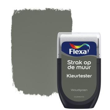 Flexa Strak op de muur Kleurtester Woudgroen mat 30ml