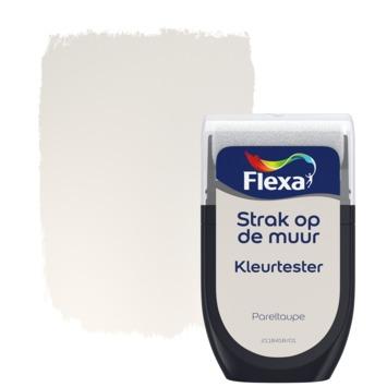 Flexa Strak op de muur kleurtester pareltaupe