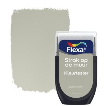 Flexa Strak op de muur Kleurtester Saliegroen mat 30ml