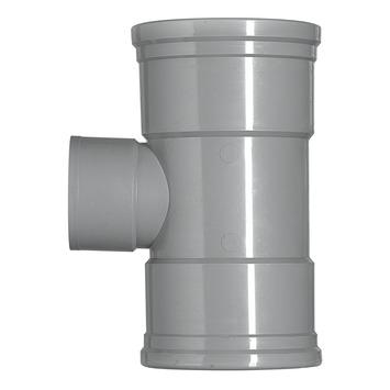 Martens PVC T-stuk 90° 3x manchet 125x75 mm