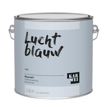 KARWEI muurverf lucht blauw mat 2,5 liter