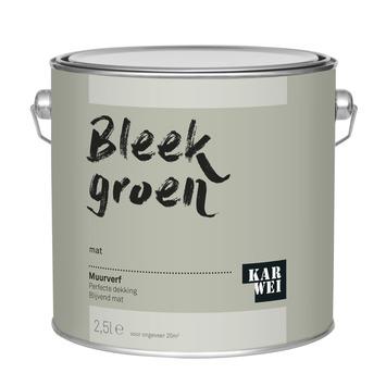 KARWEI muurverf bleek groen mat 2,5 liter