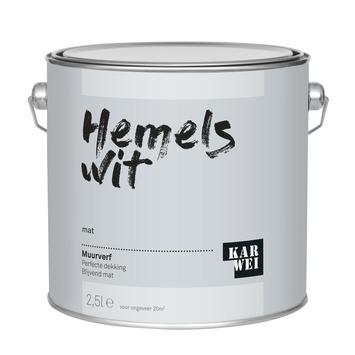 KARWEI muurverf hemels wit mat 2,5 liter