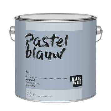 KARWEI muurverf pastel blauw mat 2,5 liter