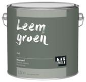 KARWEI muurverf leem groen mat 2,5 liter