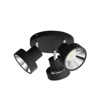 Philips spot Bukko 3-lichts zwart