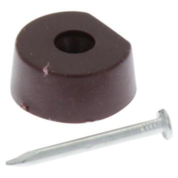 HANDSON kastplankdrager met nagel bruin (20 stuks)