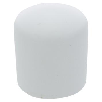 Handson meubeldop rond wit 25 mm 4 stuks