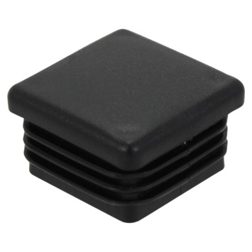 Handson meubeldop vierkant zwart 30 mm 4 stuks