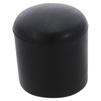 Handson meubeldop rond zwart 22 mm 4 stuks