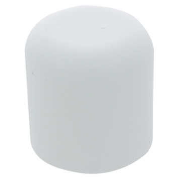 HANDSON meubeldop rond wit 19 mm 4 stuks