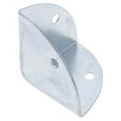 HANDSON kofferhoek nikkel 40 mm 4 stuks