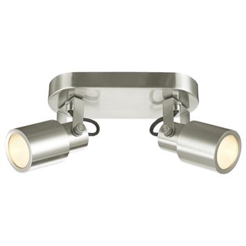 KARWEI spot Maxim mat chroom 2-lichts