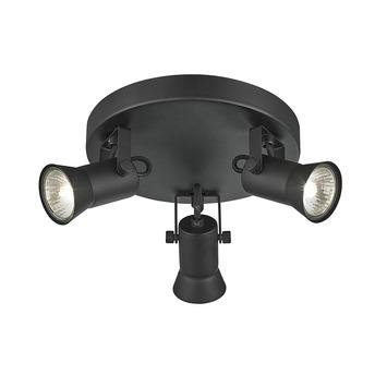 KARWEI spot Mic mat zwart 3-lichts