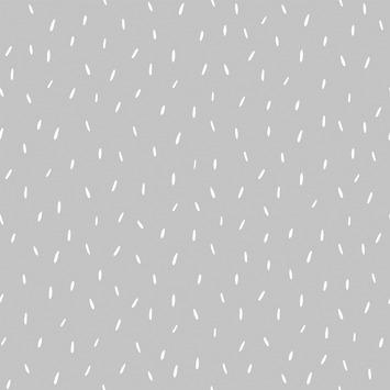 Little Dutch vliesbehang sprinkles grijs (dessin 8614)