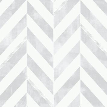 Vliesbehang Italie zilver (dessin 103294)