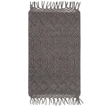 Vloerkleed Madras grijs 60x100 cm OP=OP