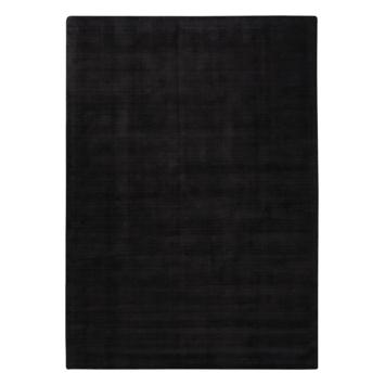 Vloerkleed Isfahan zwart 160x230 cm
