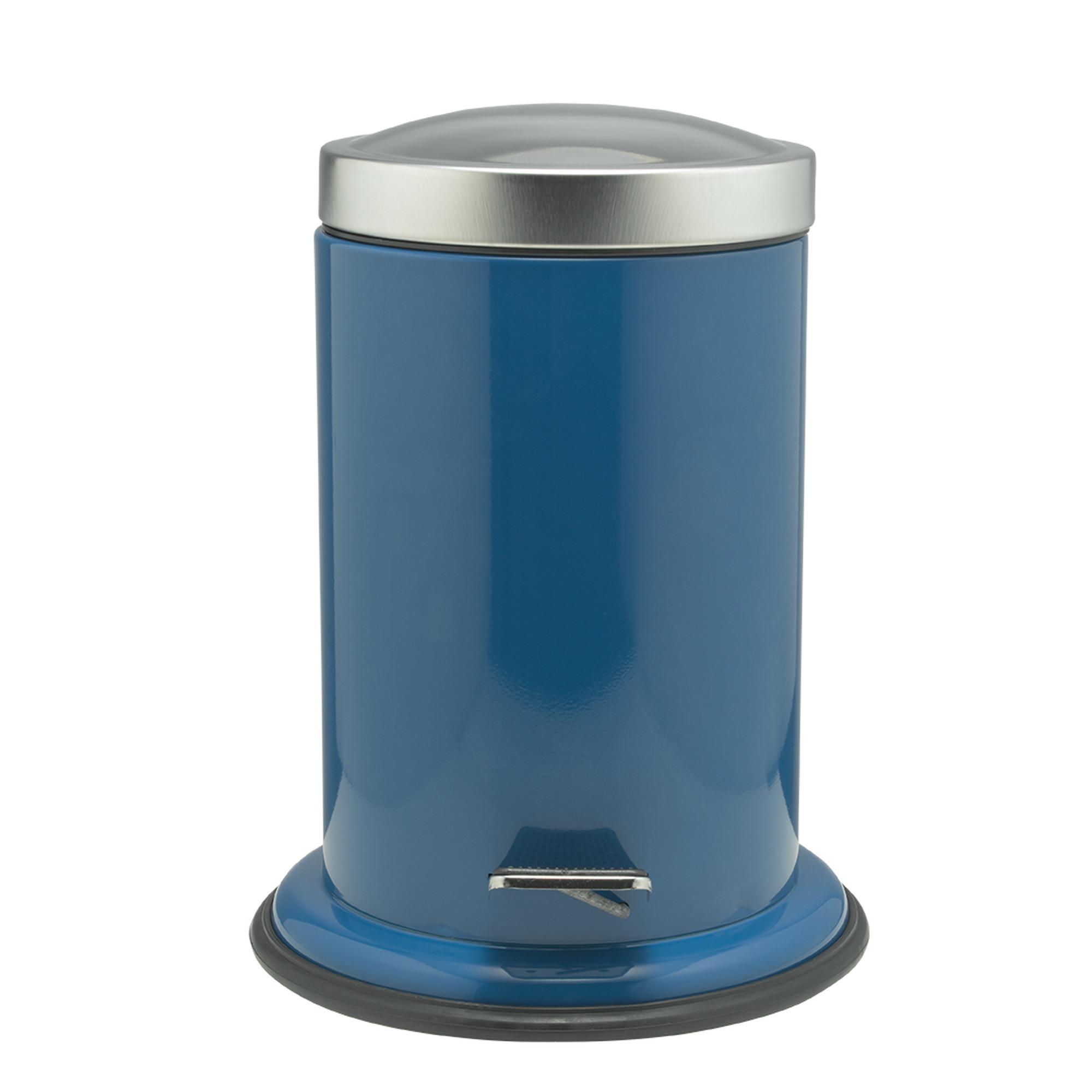 Sealskin Acero pedaalemmer 22x28cm RVS blauw