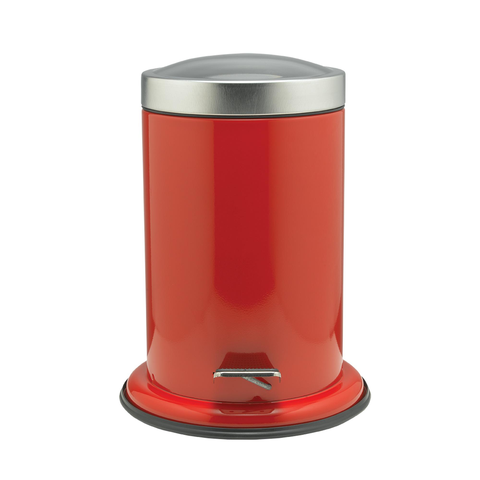 Sealskin Acero pedaalemmer 22x28cm RVS rood