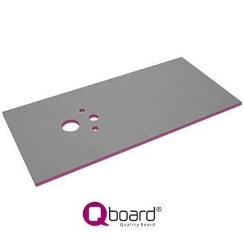 Qboard Quick Toiletplaat 130x90x2 cm