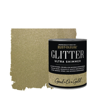 Rust-Oleum glitterverf ultra shimmer gold 750 ml