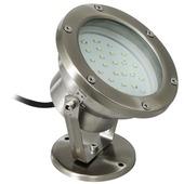 Ranex Sylvana LED tuinspot 39X0,06W geborsteld rvs