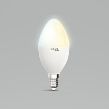 iDual White kaars E14 400 lumen