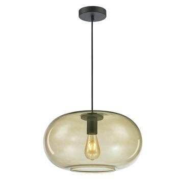 KARWEI hanglamp Odin bruin glas