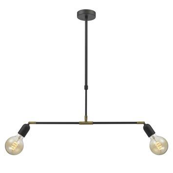 KARWEI hanglamp Silas zwart