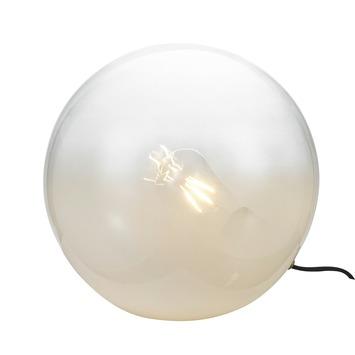 KARWEI tafellamp Finn wit vervaagd glas