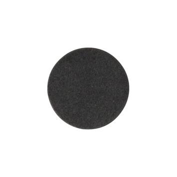 HANDSON anti slip rubber Ø18 mm zwart 16 stuks