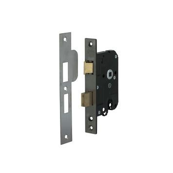 NEMEF veiligheidsslot met sluitkom SKG 2-sterren Doorn 50mm PC 55mm