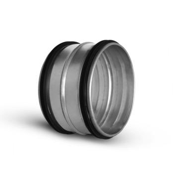 Sanivesk spiraalbuis Verbinder met Flens Ø 100 mm