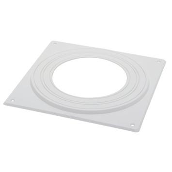 Sanivesk Plafond Afdekplaat Ø100/ 125/ 150 mm