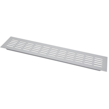 Sanivesk ventilatiestrip aluminium geanodiseerd 40x8 cm