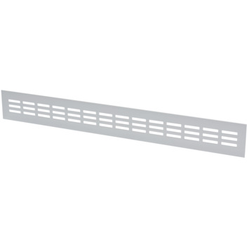 Sanivesk ventilatiestrip aluminium geanodiseerd 50x6 cm