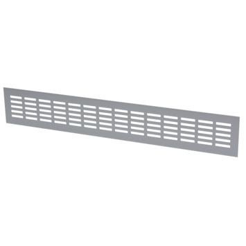 Sanivesk ventilatiestrip aluminium geanodiseerd 50x8 cm