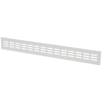 Sanivesk ventilatiestrip aluminium wit 50x6 cm