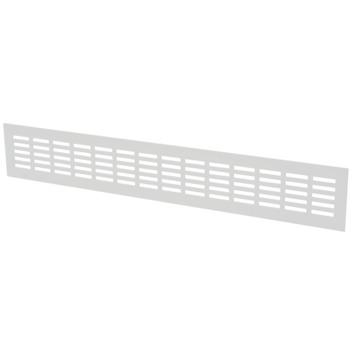 Sanivesk ventilatiestrip aluminium wit 50x8 cm