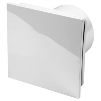 Sanivesk inbouwventilator Design vierkant Ø 100 mm