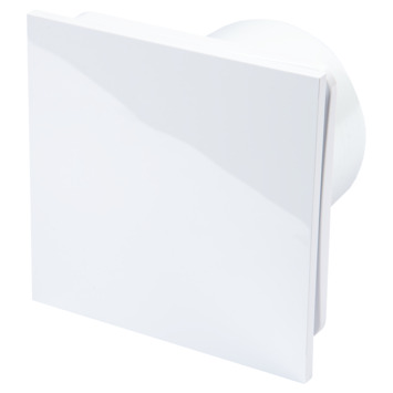 Sanivesk Inbouwventilator Design met timer vierkant Ø 100 mm