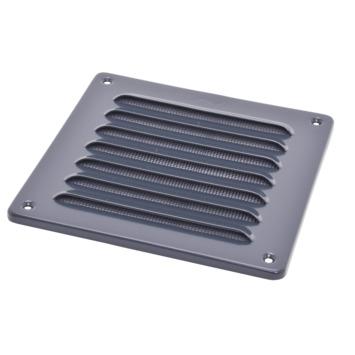 Sanivesk schoepenrooster aluminium antraciet 15,5x15,5 cm