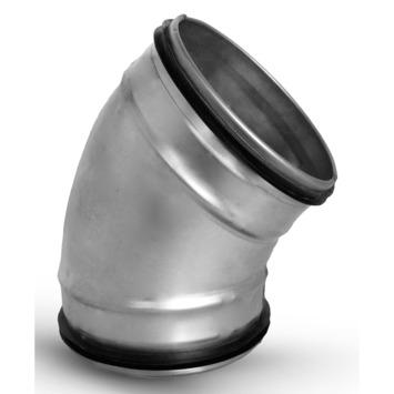 Sanivesk spiraalbuis 45° Bocht Ø 125 mm