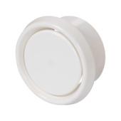 Sanivesk luchtventiel kunststof wit Ø125 mm