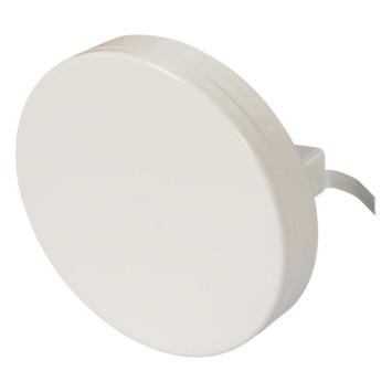 Sanivesk luchtventiel staal wit Ø 125 mm