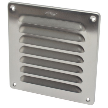 Sanivesk schoepenrooster aluminium 15,5x15,5 cm