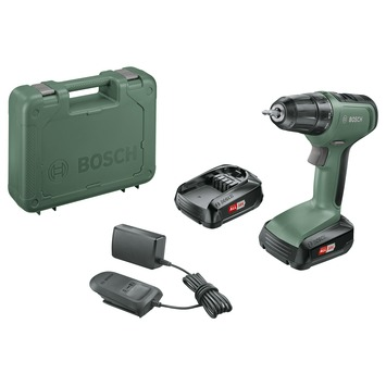 Bosch accuboormachine UniversalDrill 18 in koffer + 2 18V accu's