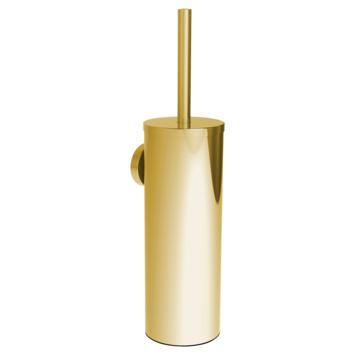 Allibert Coperblink toiletborstelhouder hangend Goud