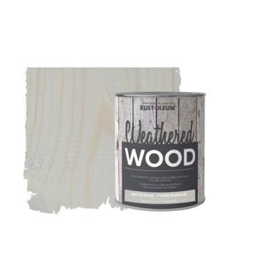 Rust-Oleum meubelverf weathered wood witte rook 750 ml